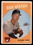 1959 Topps #520  Don Elston  Front Thumbnail