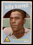 1959 Topps #433  Billy Harrell  Front Thumbnail