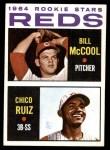 1964 Topps #356   -  Bill McCool / Chico Ruiz Reds Rookies Front Thumbnail