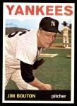 1964 Topps #470  Jim Bouton  Front Thumbnail