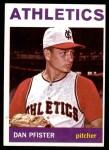 1964 Topps #302  Dan Pfister  Front Thumbnail
