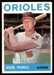 1964 Topps #89  Boog Powell  Front Thumbnail