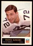 1965 Philadelphia #48  Tony Liscio  Front Thumbnail