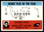 1965 Philadelphia #28   -  George Halas Chicago Bears  Front Thumbnail