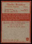 1965 Philadelphia #144  Charley Bradshaw  Back Thumbnail