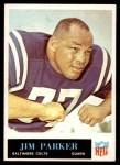 1965 Philadelphia #10  Jim Parker  Front Thumbnail