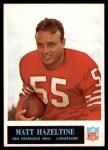 1965 Philadelphia #175  Matt Hazeltine  Front Thumbnail