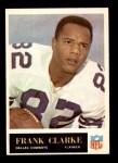 1965 Philadelphia #44  Frank Clarke  Front Thumbnail