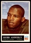 1965 Philadelphia #72  Herb Adderley  Front Thumbnail
