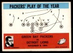 1965 Philadelphia #84   -  Vince Lombardi Green Bay Packers Front Thumbnail