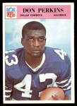 1966 Philadelphia #62  Don Perkins  Front Thumbnail