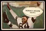 1953 Bowman #40  Horace Gillom  Front Thumbnail