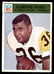 1966 Philadelphia #154  Clarence Peaks  Front Thumbnail