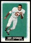 1964 Topps #71  Gary Cutsinger  Front Thumbnail