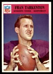 1966 Philadelphia #114  Fran Tarkenton  Front Thumbnail