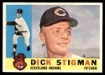 1960 Topps #507  Dick Stigman  Front Thumbnail