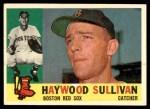 1960 Topps #474  Haywood Sullivan  Front Thumbnail