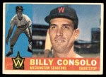 1960 Topps #508  Billy Consolo  Front Thumbnail