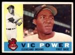 1960 Topps #75  Vic Power  Front Thumbnail