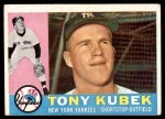 1960 Topps #83  Tony Kubek  Front Thumbnail