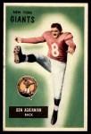 1955 Bowman #68  Ben Agajanian  Front Thumbnail