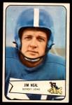 1954 Bowman #75  Jim Neal  Front Thumbnail