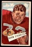 1952 Bowman Large #42  Norm Standlee  Front Thumbnail
