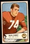 1954 Bowman #67  Ralph Starkey  Front Thumbnail