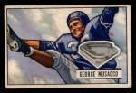 1951 Bowman #7  George Musacco  Front Thumbnail