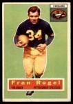 1956 Topps #15  Fran Rogel  Front Thumbnail