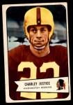 1954 Bowman #39  Charley Justice  Front Thumbnail