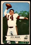 1954 Bowman #40  Otto Graham  Front Thumbnail