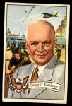 1956 Topps U.S. Presidents #36  Dwight D.Eisenhower  Front Thumbnail