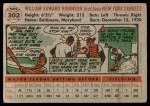 1956 Topps #302  Eddie Robinson  Back Thumbnail