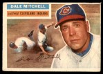 1956 Topps #268  Dale Mitchell  Front Thumbnail