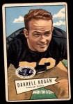 1952 Bowman Large #118  Darrell Hogan  Front Thumbnail