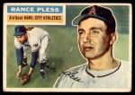1956 Topps #339  Rance Pless  Front Thumbnail