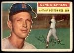 1956 Topps #313  Gene Stephens  Front Thumbnail