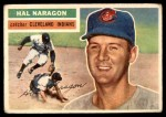 1956 Topps #311  Hal Naragon  Front Thumbnail