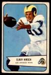 1954 Bowman #32  Elroy Hirsch  Front Thumbnail
