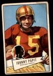 1952 Bowman Large #143  Johnny Papit  Front Thumbnail