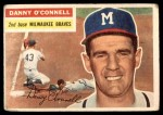 1956 Topps #272  Danny O'Connell  Front Thumbnail