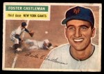 1956 Topps #271  Foster Castleman  Front Thumbnail