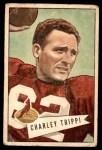 1952 Bowman Large #12  Charley Trippi  Front Thumbnail