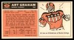 1965 Topps #11  Art Graham  Back Thumbnail