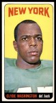 1965 Topps #130  Clyde Washington  Front Thumbnail