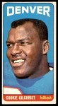 1965 Topps #51  Cookie Gilchrist  Front Thumbnail
