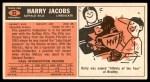1965 Topps #32  Harry Jacobs  Back Thumbnail