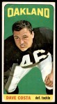 1965 Topps #135  Dave Costa  Front Thumbnail