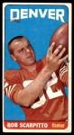 1965 Topps #62  Bob Scarpitto  Front Thumbnail